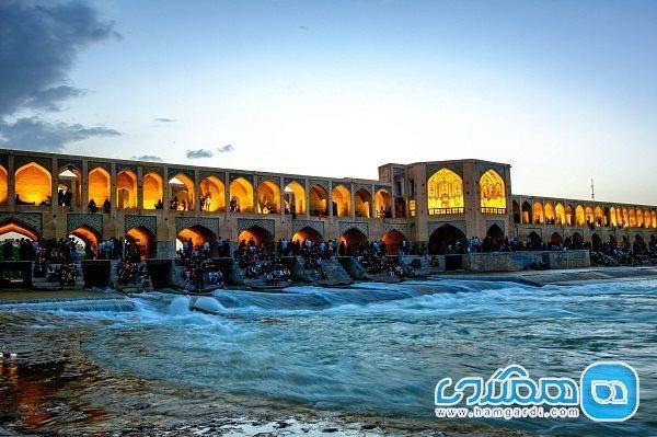 تاریخچه پل خواجو ، پلی به قدمت تاریخ دنیا