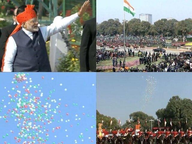 هند با رژه نظامی روز جمهوری را گرامی داشت