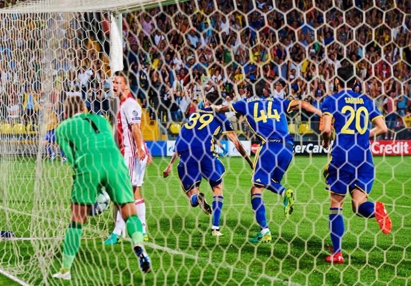 شانس بالاتر روستوف از زسکا برای صعود از مرحله گروهی لیگ قهرمانان اروپا
