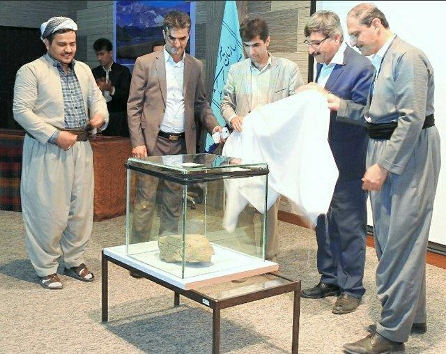 رونمایی از کتیبه 3000 ساله کشف شده در مریوان