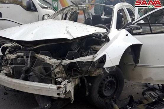 انفجار خودروی بمب گذاری شده در دمشق