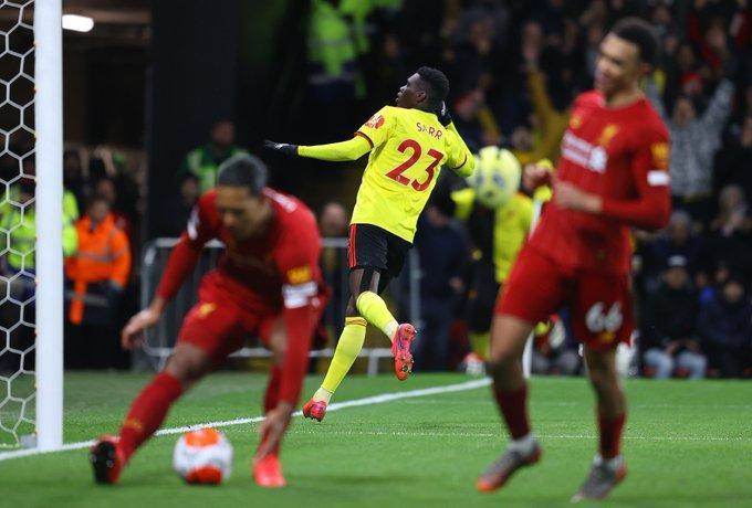 واتفورد 3 - 0 لیورپول؛ خداحافظ جام طلایی!