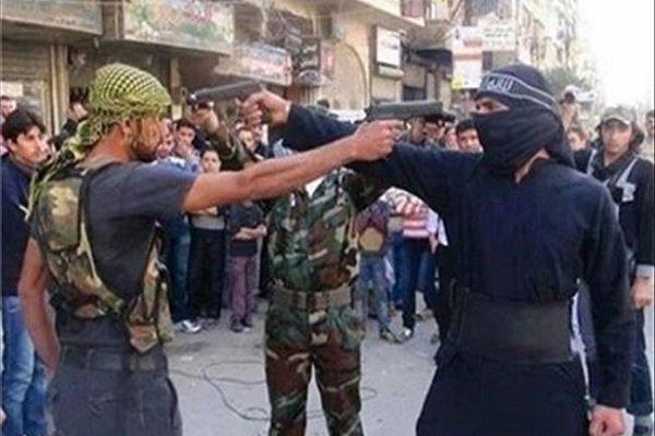 درگیری های سنگین میان تروریستهای وابسته به ترکیه در شمال حلب