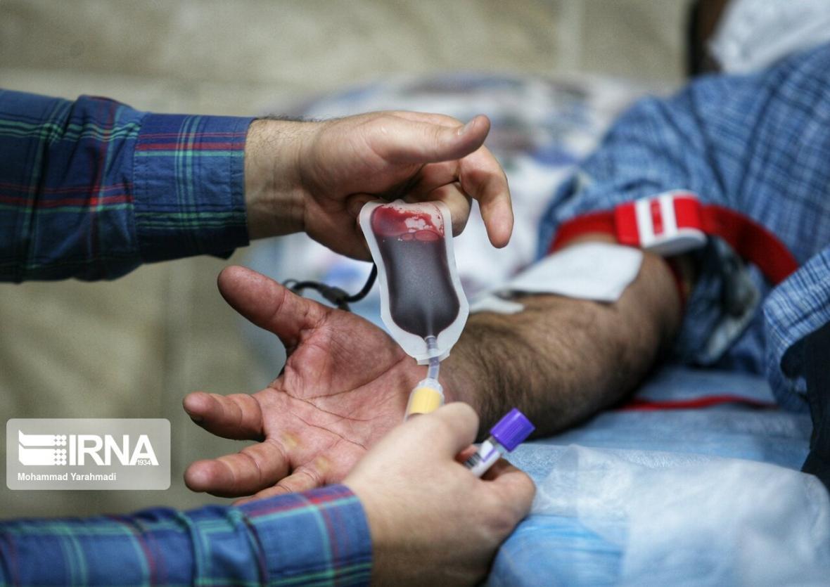 خبرنگاران طرح نذر خون در همدان تا اربعین ادامه دارد