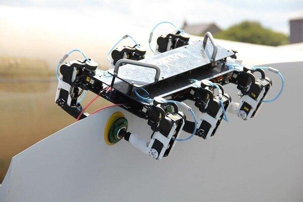 روبات عیب یاب توربین های بادی ساخته شد