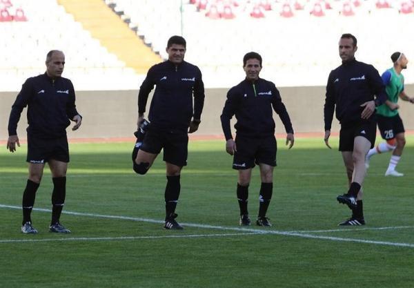 اعلام اسامی داوران 6 ملاقات از هفته بیستم لیگ برتر فوتبال
